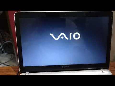 How To Install Windows 7 In Sony Vaio Laptop SVF15212SNW/SVF152C1WW