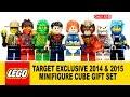 LEGO Minifigure Cube Set 2014 & 2015 Target Exclusive 5004076 -77 w/ Superboy & Lightning Lad