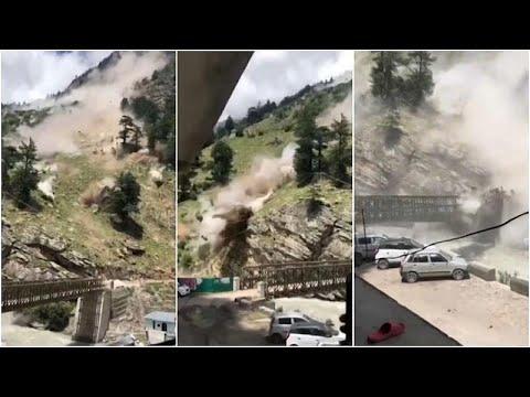 فيديو | انهيار صخري في الهند يؤدي إلى مقتل 9 أشخاص وجرح ثلاثة آخرين…  - نشر قبل 3 ساعة