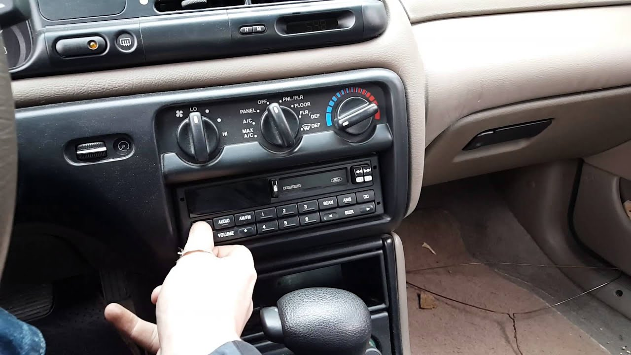 1997 Ford Contour Interior Tour Youtube