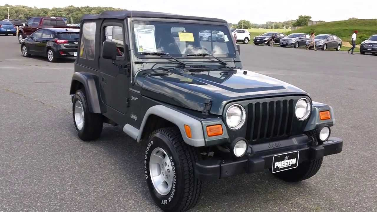 Wonderful Cheap Used Jeep Wrangler For Sale Maryland # N300387A   YouTube