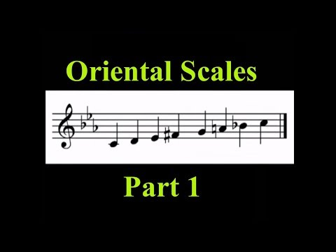 Arabic Oriental Scales lessons Part 1 (No Quarter Tones) - Ahmad Al-Jawadi