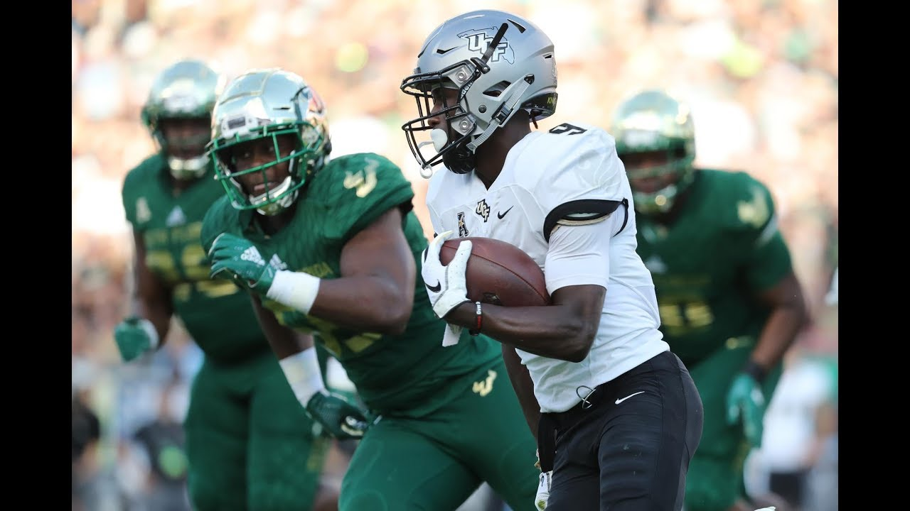2018 American Football Highlights 9 Ucf 38 Usf 10 Youtube