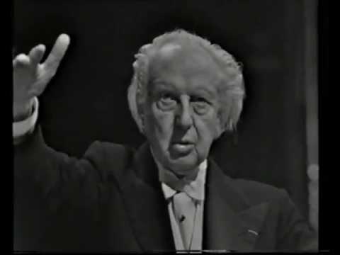 Stravinsky 'Petrushka' Suite - Stokowski conducts in Stockholm