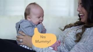 Mum and Baby talking