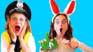 HUNTING EASTER EGGS WITH BIGGY THE POLICEMAN