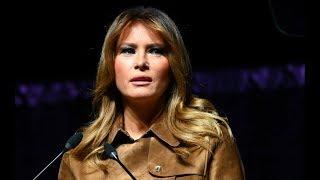 Melania Trump Endures Avalanche Of Boos At Speech