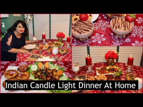 Candle Light Dinner Ideas At Home Romantic Dinner Four Course Meal Quick Dinner Ideas Youtube