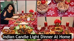 Candle Light Dinner Ideas At Home | Romantic Dinner | Four Course Meal  | Quick Dinner Ideas