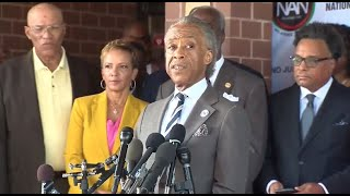Watch live: Sharpton and Steele address Trump's attacks on Baltimore