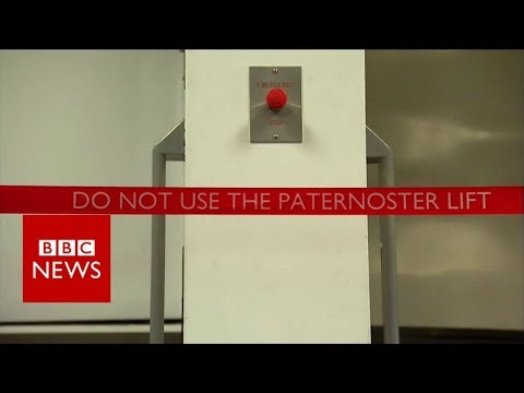 Paternoster: The rare lift that went over the top – BBC News