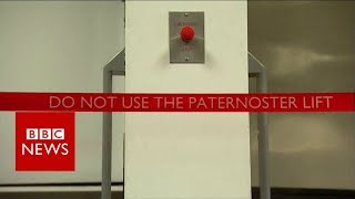 Video Paternoster: The rare lift that went over the top - BBC News download MP3, 3GP, MP4, WEBM, AVI, FLV Juli 2018