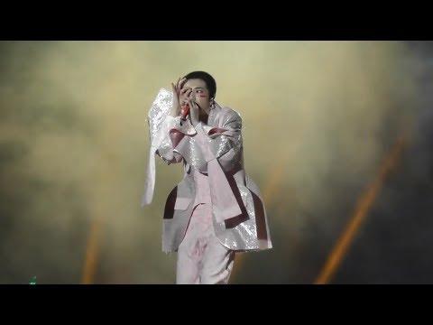 華晨宇《瘋人院》新歌首唱!2019/11/15海口火星演唱會飯拍@marsnurse-yu Hua Chenyu