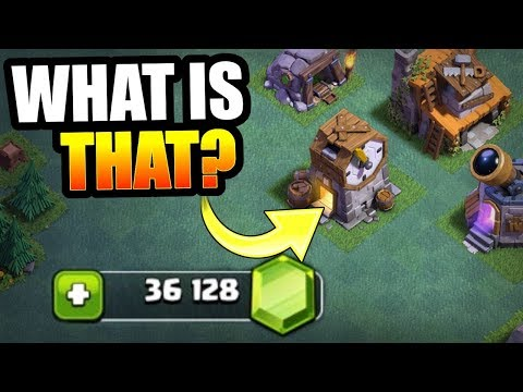 GEMMING /UNLOCKING THE CLOCK TOWER IN CLASH OF CLANS!!   WHAT DOES IT DO!