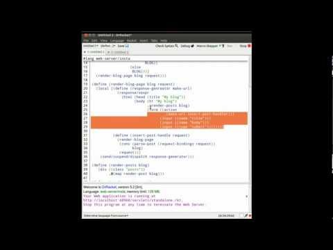 Intro to Web Development in Racket Programming Language