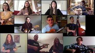 "Virtual Orchestra - Easter   Hrvatski Folklorni Ansambl - Croatian Folklore Ensemble ""Croatoan"""