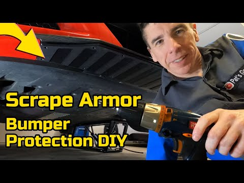 How to install Scrape Armor on the Acura NSX, or any car!