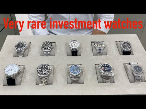 10 Best Investment Watches from Rolex Audemars Piguet Patek Philippe Breitling Ulysse Nardin Bvlgari