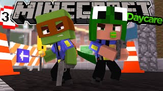 Minecraft School Daycare - BABY BECOME POLICE OFFICERS!