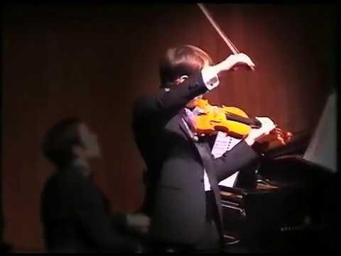 Alessio Bidoli - Debussy - Sonata per violino e pianoforte in sol minore 3