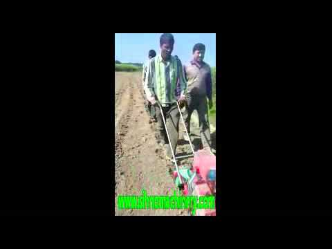 Hand Push Manual Corn And Bean Seeder Single Row Corn Planter Youtube