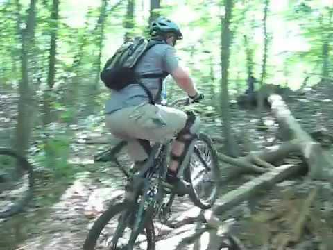 CT Skinnies - Mountain bike log rides