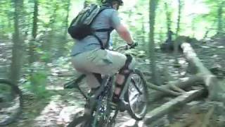 CT Skinnies - Mountain bike log rides