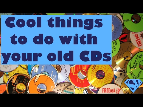 COOL things to do with your old CDs