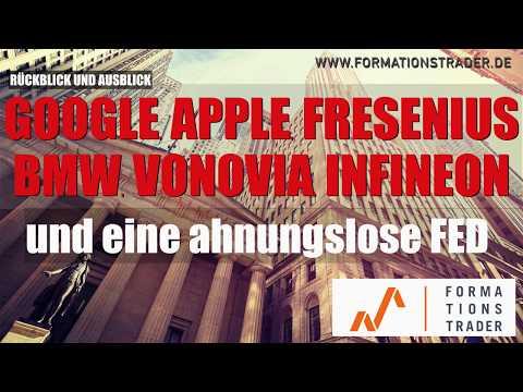 Dax, Goolge, Apple, Infineon, Vonovia, BMW, Henkel und die ahnungslose FED