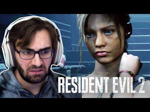 RESIDENT EVIL 2 Remake | Claire 2a Jornada #8 - Laboratório Da Umbrella (Gameplay Português PT-BR)