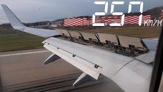 Летим! Зимой из Москвы в Сочи / Боинг 737-800 авиакомпании NordStar 2019