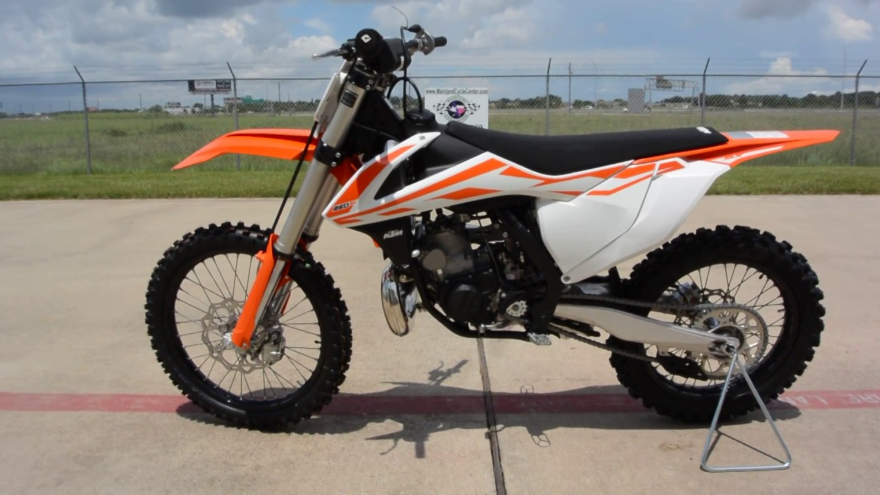 $7,699: 2017 ktm 250 sx 2 stroke overview and review - youtube