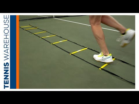 Weekly Workout: Ladder Drills For Tennis You Can Do At Home (or At A Park!) 🏡🎾