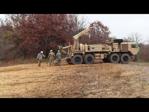 Fort McCoy RTS-Maintenance Wheeled Vehicle Recovery Course Training: Winch Set Up