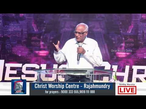 SUNDAY LIVE FIRST WORSHIP  12-11-2017 --     Christ Worship Centre   