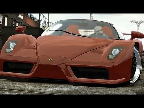 GTA 4 Audi R8 vs Lambo Reventon vs Ferrari Enzo HD4870 1GB Q6600 720p [HD] [ Car mods + RealizmIV ]