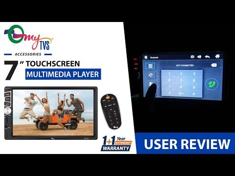 "myTVS Accessories - TAV 61 -7"" Touchscreen Double Din Multimedia Player - Customer Review"