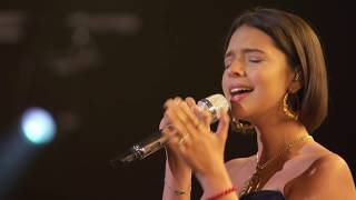 Watch Angela Aguilar, Aida Cuevas & Natalia Lafourcade perform a re...
