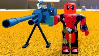 Roblox Deadpool In The Funny Superheroes Factory (Real Life)