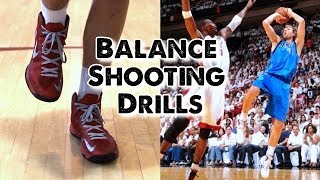 12 Balance Shooting Drills for Basketball Players