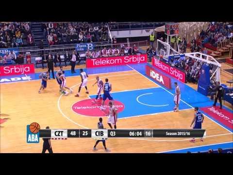 Highlights: Crvena zvezda Telekom - Cibona [ABA - Round 12] [30/11/2015]