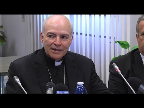 Carlos Aguiar is the new archbishop of Mexico City