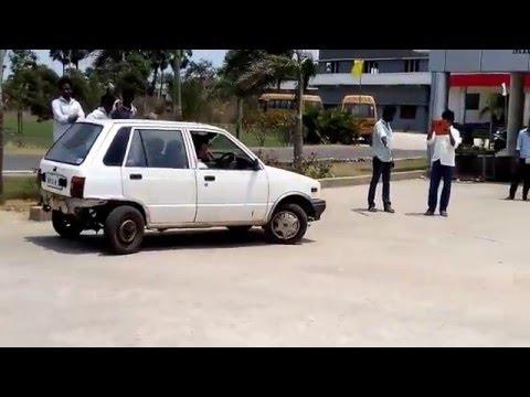 Optional Four Wheel Steering Mechanism......