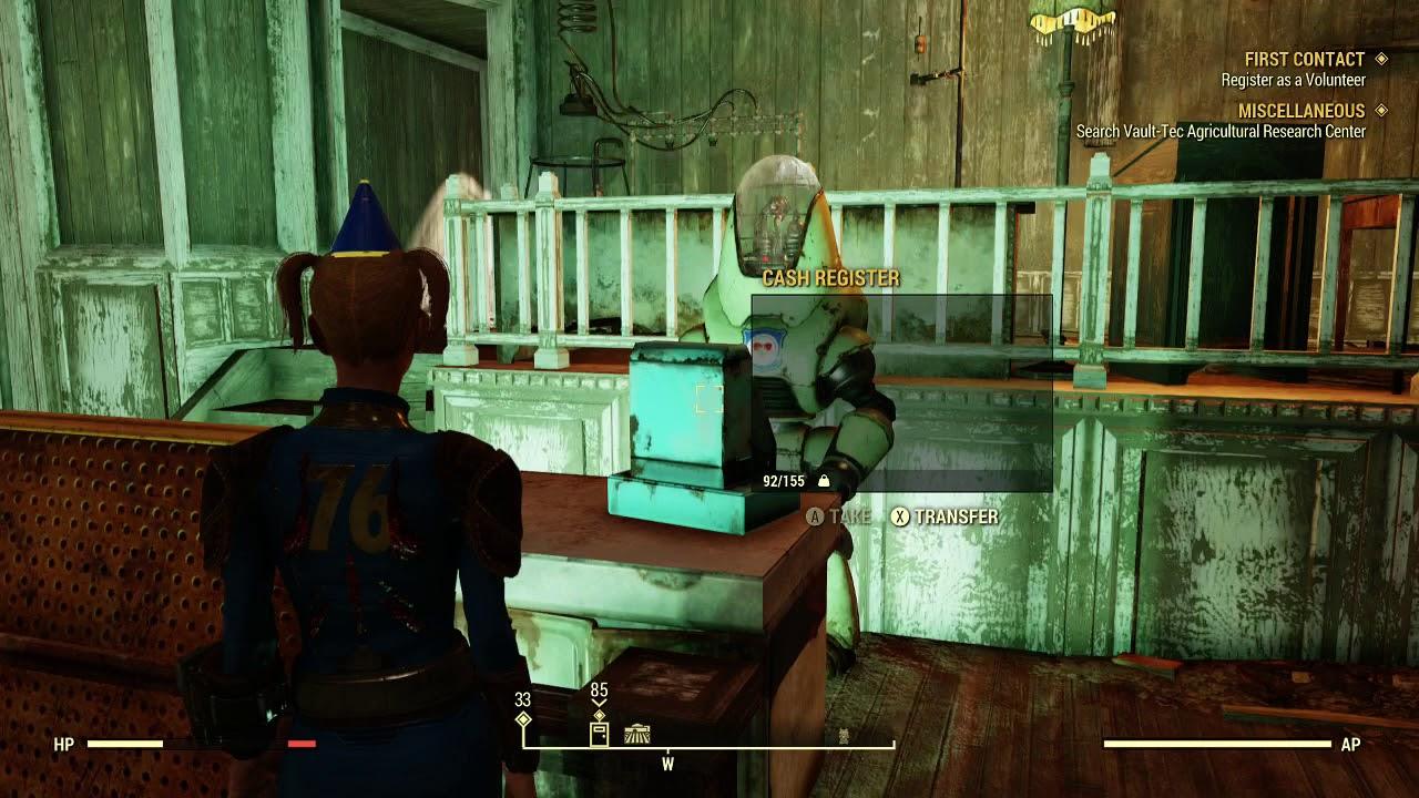 Fallout 76 Public Event Fertile Soil Rewards Explore Church
