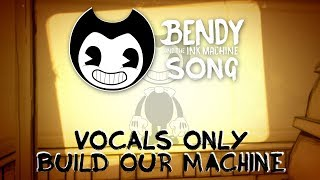 DAGames - Build Our Machine Vocals Only/Vocal Stem/Acapella