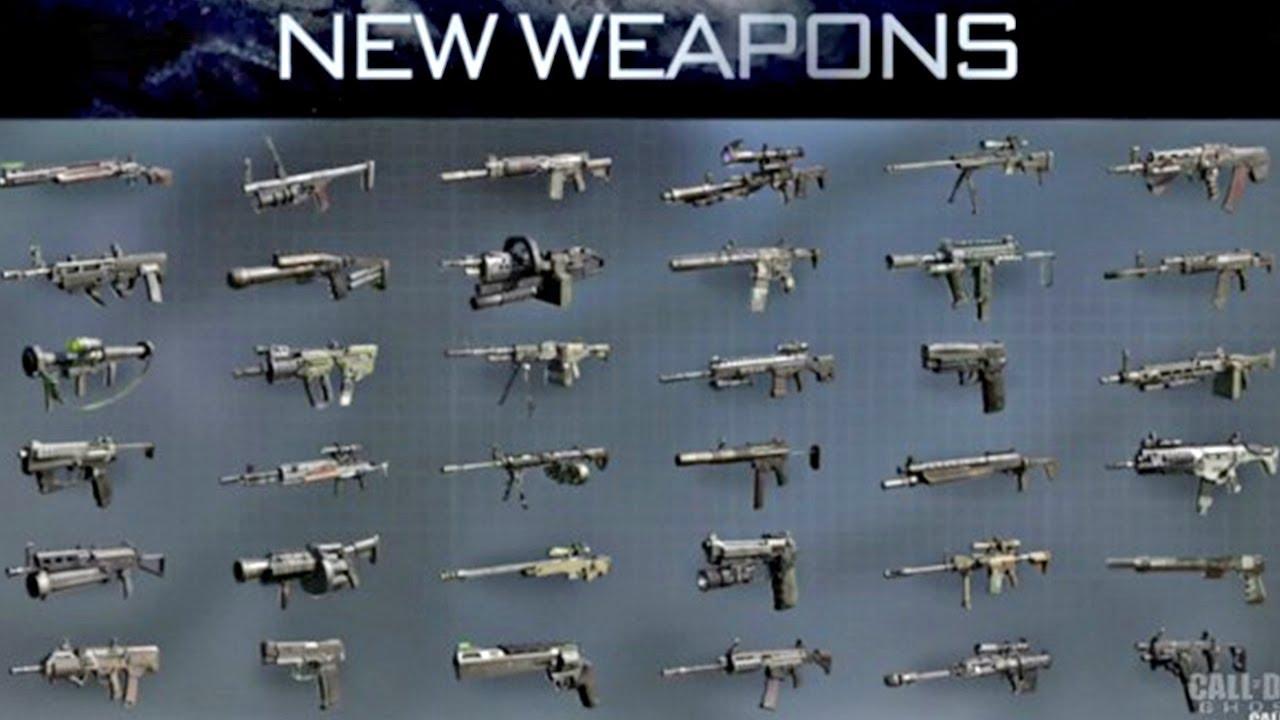 Call of duty: Ghosts: Récap' de toutes les nouvelles armes ...