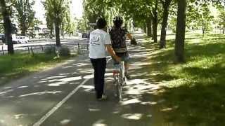 Обучение на велосипеде - взрослые 1