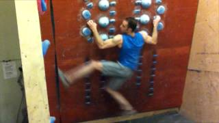 Repeat youtube video Climbing Workouts - Drills and Exercises - Movement Training in System Wall