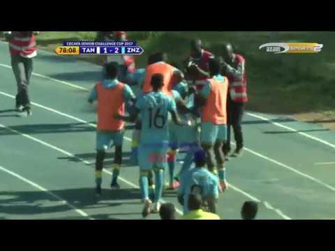 Azam TV - CECAFA2017; HIGHLIGHTS: Tanzania Bara 1-2 Zanzibar