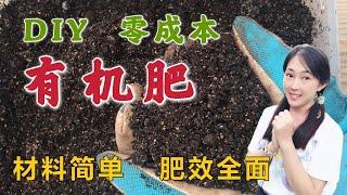 【种植36】 DIY有机复合肥料/堆肥这4种常用厨余是绝配不花钱变废为宝简单高效肥效全 | 咖啡渣香蕉皮鸡蛋壳虾壳 DIY organic fertiliser, easy n rich